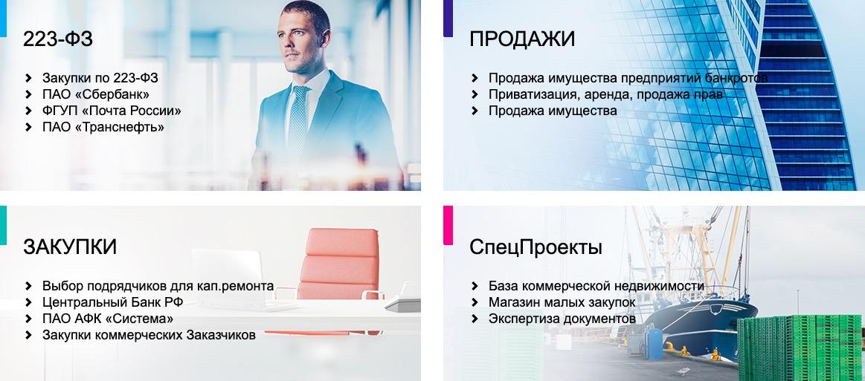 Сбербанк АСТ услуги
